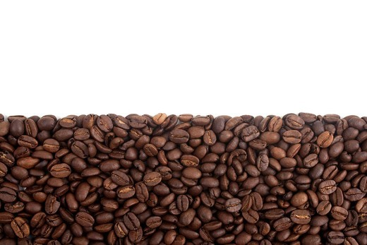 Stock Photo: 1848-536099 Freshly roasted coffee beans