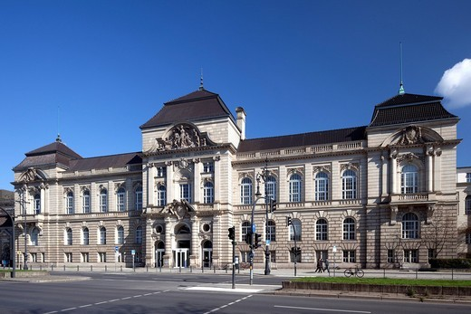 Stock Photo: 1848-537198 Main building of the University of the Arts, UdK, Charlottenburg, Berlin, Germany, Europe
