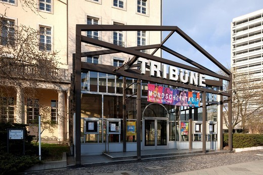 Tribuene theatre, Charlottenburg district, Berlin, Germany, Europe : Stock Photo
