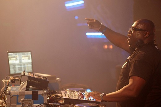 Stock Photo: 1848-538848 DJ Carl Cox, Techno festival Nature One 2010, Kastellaun, Rhineland_Palatinate, Germany, Europe