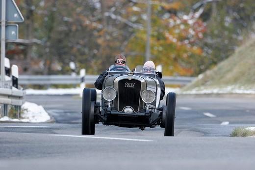 Rally NCP, built 1930, Jochpass Memorial 2007, Bad Hindelang, Bavaria, Germany : Stock Photo