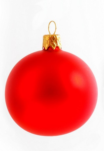 Stock Photo: 1848-53943 Christmas tree ball ornament