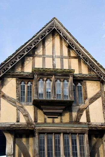 Stock Photo: 1848-541831 Half_timbered house, Oxford, Oxfordshire, England, United Kingdom, Europe