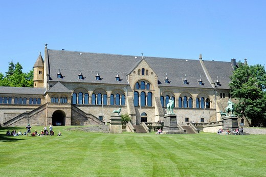 Stock Photo: 1848-542864 Imperial Palace, Goslar, Harz, Lower Saxony, Germany, Europe