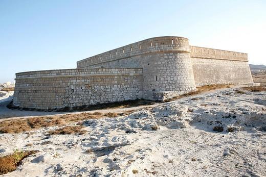 Stock Photo: 1848-543126 Castillo de San Filipe, Cabo de Gata, Andalusia, southern Spain, Europe