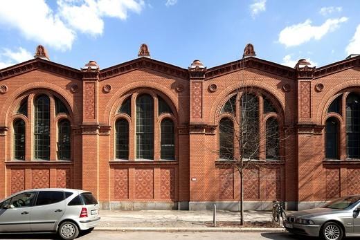 Stock Photo: 1848-543148 Markthalle Moabit, market hall, Tiergarten, Berlin, Germany, Europe