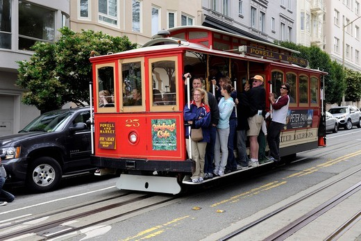 Cable Car in San Francisco, California, USA : Stock Photo