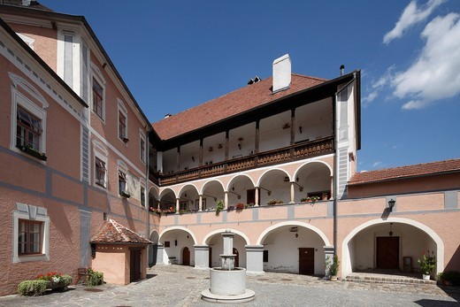 Stock Photo: 1848-543956 Rossatz Castle, Wachau, Mostviertel quarter, Lower Austria, Austria, Europe