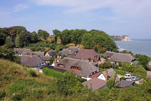 Fishing village of Vitt, Cape Arkona, Ruegen Island, Mecklenburg_Western Pomerania, Germany, Europe : Stock Photo