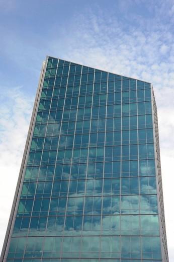 Danish Bank skyscraper, Århus or Aarhus, Jutland, Denmark, Europe : Stock Photo
