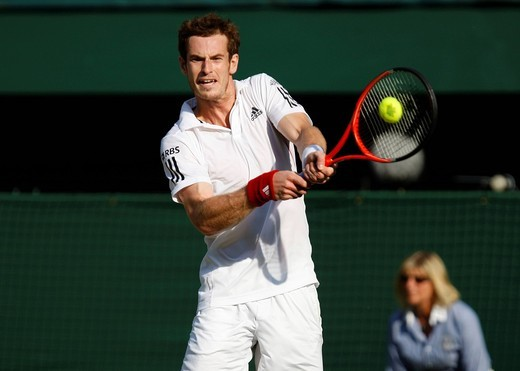 Stock Photo: 1848-547486 Andy Murray, Britain, Wimbledon 2010, ITF Grand Slam Tournament, Wimbledon, England, United Kingdom, Europe