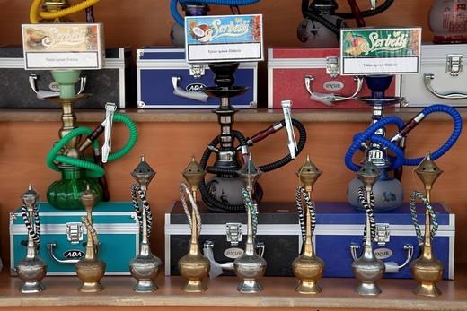 Water pipes, Myra, Demre, Lycia, Turkey, Asia : Stock Photo