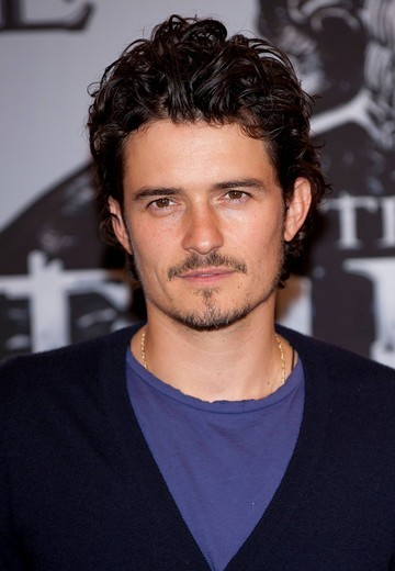 Orlando Bloom at the photocall of the movie The Three Musketeers in Munich, Bavaria, Germany, Europe : Stock Photo