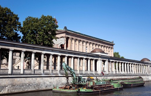 Stock Photo: 1848-551547 View from the Spree on the Museumsinsel museum island in Berlin, Germany, Europe