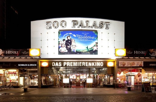 Zoo Palast Cinema, Charlottenburg, Berlin, Germany, Europe : Stock Photo