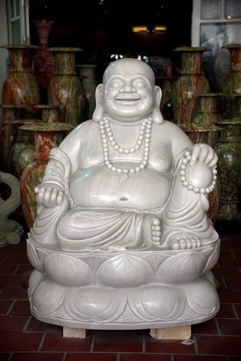 Buddha statue, Marble Mountains, Vietnam, Asia : Stock Photo