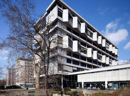 Architecture Institute, Technical University of Berlin, Charlottenburg, Berlin, Germany, Europe : Stock Photo