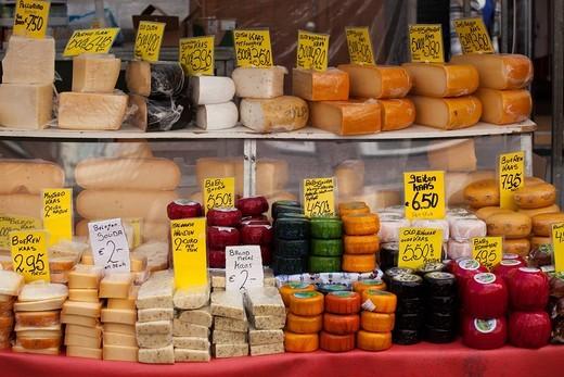 Albert Cuyp market, Amsterdam, Holland, Netherlands, Europe : Stock Photo