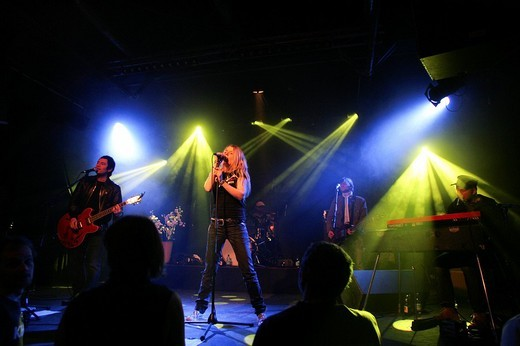 Stock Photo: 1848-5556 German pop band Klee performing live in the Schueuer concert house, Lucerne, Switzerland, Europe