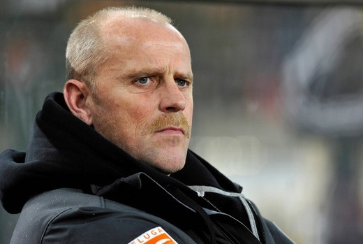 Coach Thomas Schaaf, SV Werder Bremen football club : Stock Photo