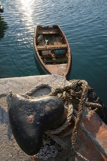 Rowboat in Rhodes, Greece, Europe : Stock Photo