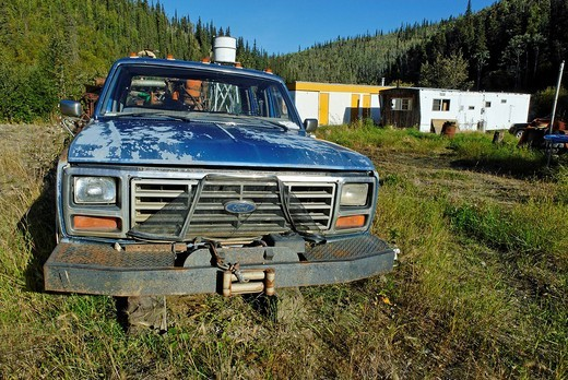Dawson City, Yukon Territory, Canada : Stock Photo
