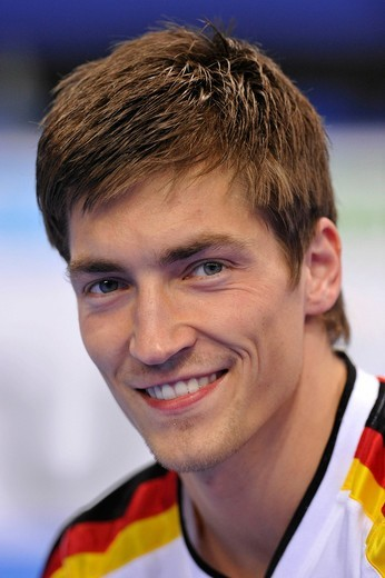 Philipp Boy, GER, portrait, EnBW Gymnastics World Cup 2010, 28th DTB_Cup, Stuttgart, Baden_Wuerttemberg, Germany, Europe : Stock Photo