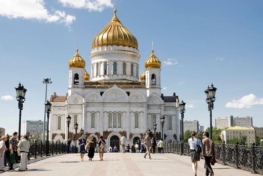 Stock Photo: 1848-559173 Christ the Saviour cathedral, Moscow, Russia