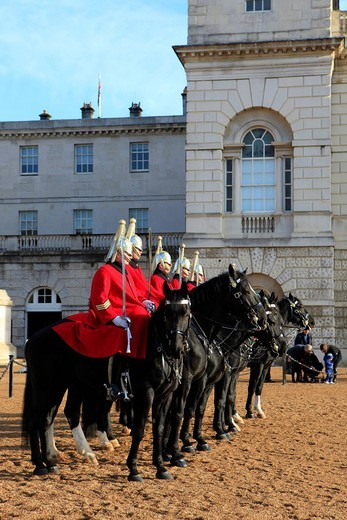 Stock Photo: 1848-559244 Horse Guards Parade in London, England, United Kingdom, Europe