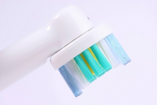 Electrical tooth brush : Stock Photo
