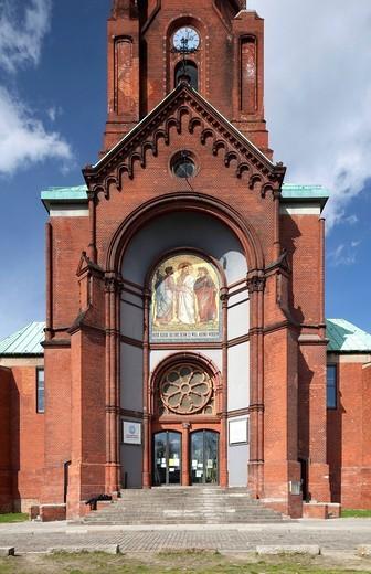 Emmaus Church, Kreuzberg, Berlin, Germany, Europe : Stock Photo