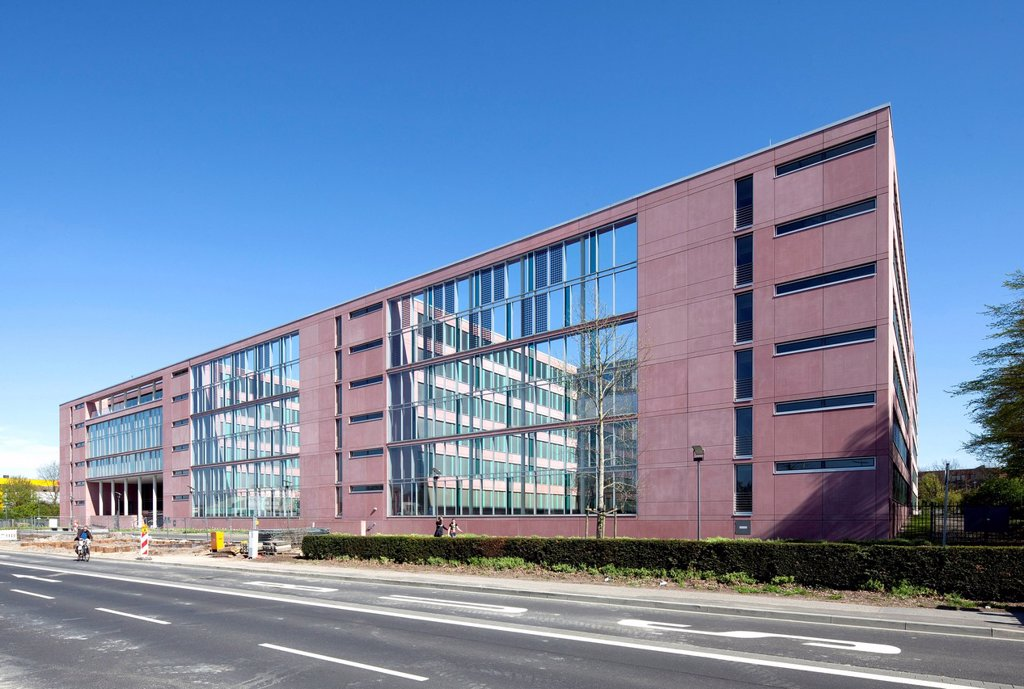 Stock Photo: 1848-571000 Tax Office Centre Aachen, Aachen, North Rhine_Westphalia, Germany, Europe, PublicGround