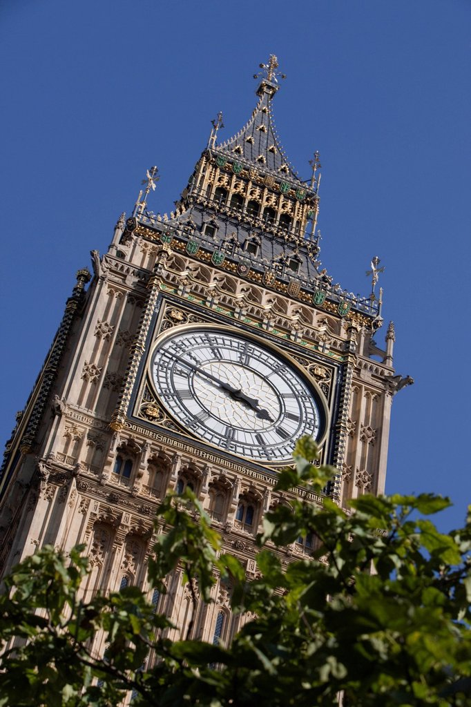 Big Ben, London, England, United Kingdom, Europe : Stock Photo