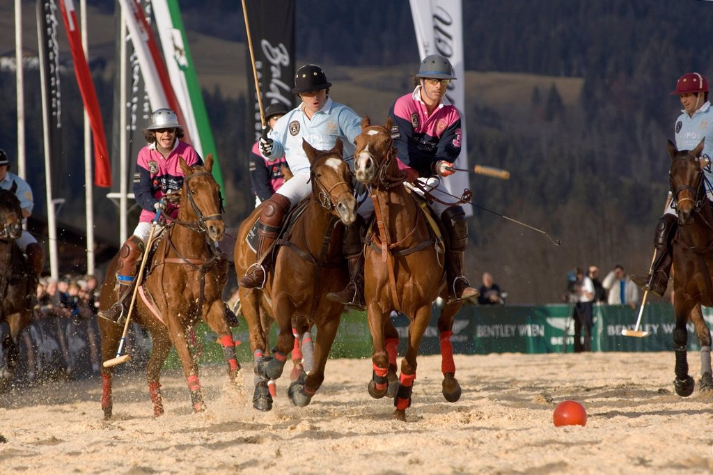 Stock Photo: 1848-574160 Polo, Kitzbuehel, northern Tyrol, Austria, Europe