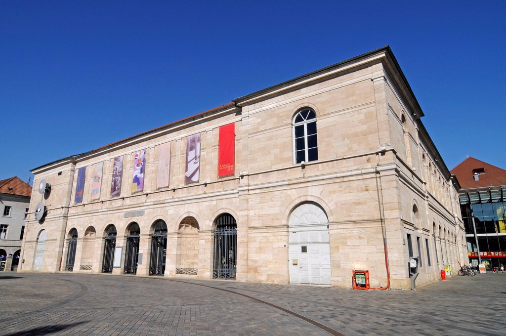 Musee des Beaux_Arts et d´Archaeology, Museum of Fine Arts and Archeology, Besancon, department of Doubs, Franche_Comte, France, Europe, PublicGround : Stock Photo