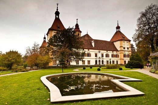 Schloss Eggenberg castle, Graz, Styria, Europe : Stock Photo