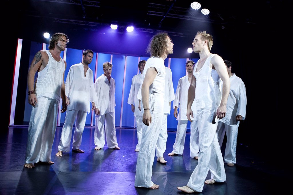 Stock Photo: 1848-581073 Hair, The Musical, live at Le Théâtre in Kriens, Lucerne, Switzerland, Europe