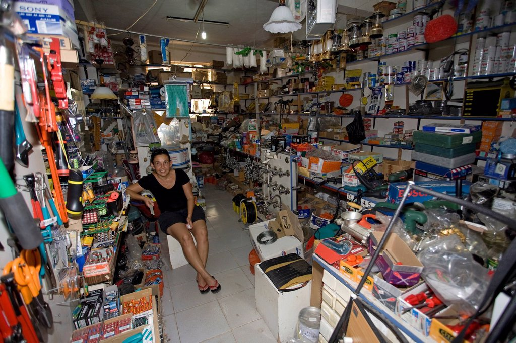 Stock Photo: 1848-584609 Small mixed business shop, Adrasan, Lykia, Turkey