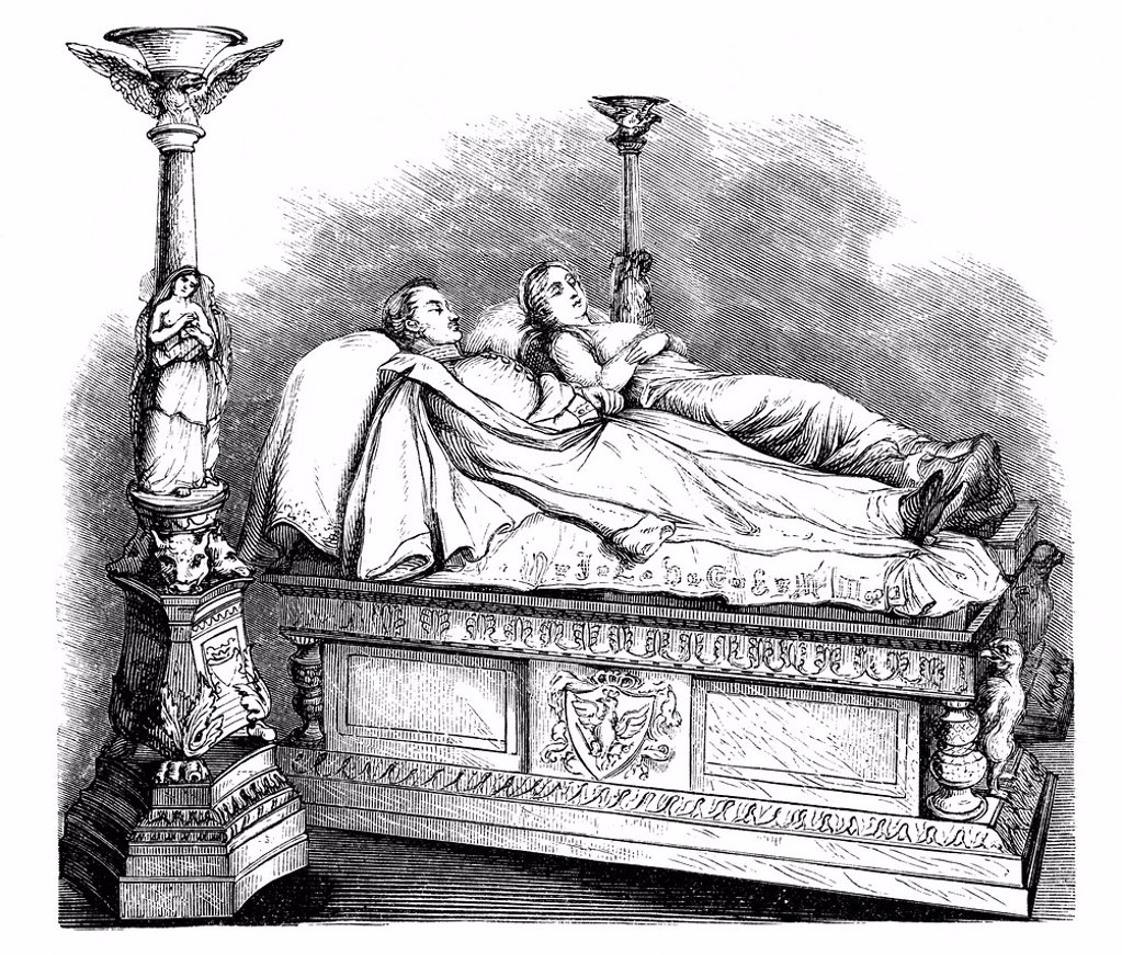 The tomb of Louise of Mecklenburg_Strelitz, 1776–181, queen consort of Prussia and King Friedrich Wilhelm III, 1770 _ 1840, in the park of Charlottenburg Palace, Berlin, Germany, Europe, historic engraving from the Buch denkwuerdiger Frauen or book of mem. The tomb of Louise of Mecklenburg_Strelitz, 1776–181, queen consort of Prussia and King Friedrich Wilhelm III, 1770 _ 1840, in the park of Charlottenburg Palace, Berlin, Germany, Europe, historic engraving from the Buch denkwuerdiger Frauen or : Stock Photo