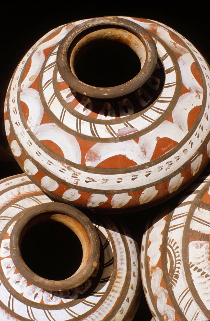 Stock Photo: 1848-588051 Pottery, the main local craft in desert areas, Jaisalmer, Rajasthan, India, Asia