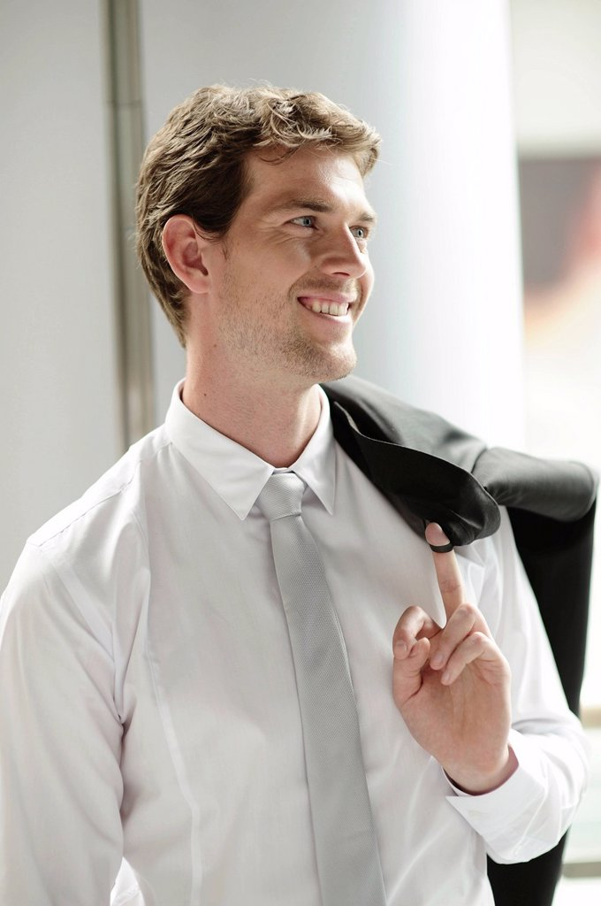 Stock Photo: 1848-588477 Young businessman