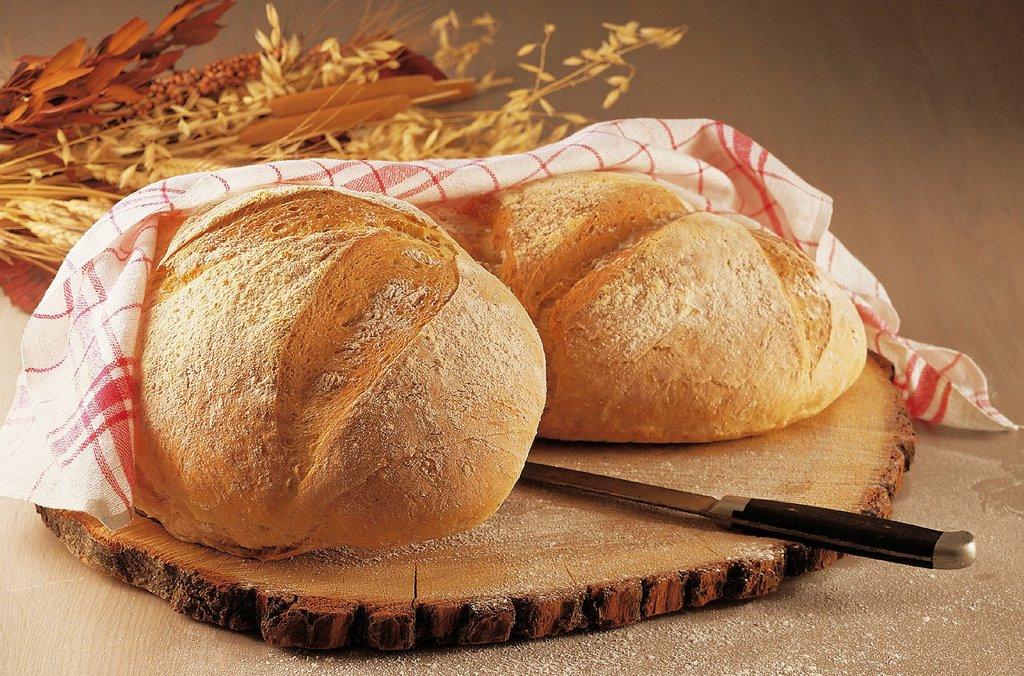 Stock Photo: 1848-588863 Wheat oat bread, recipe available for a fee