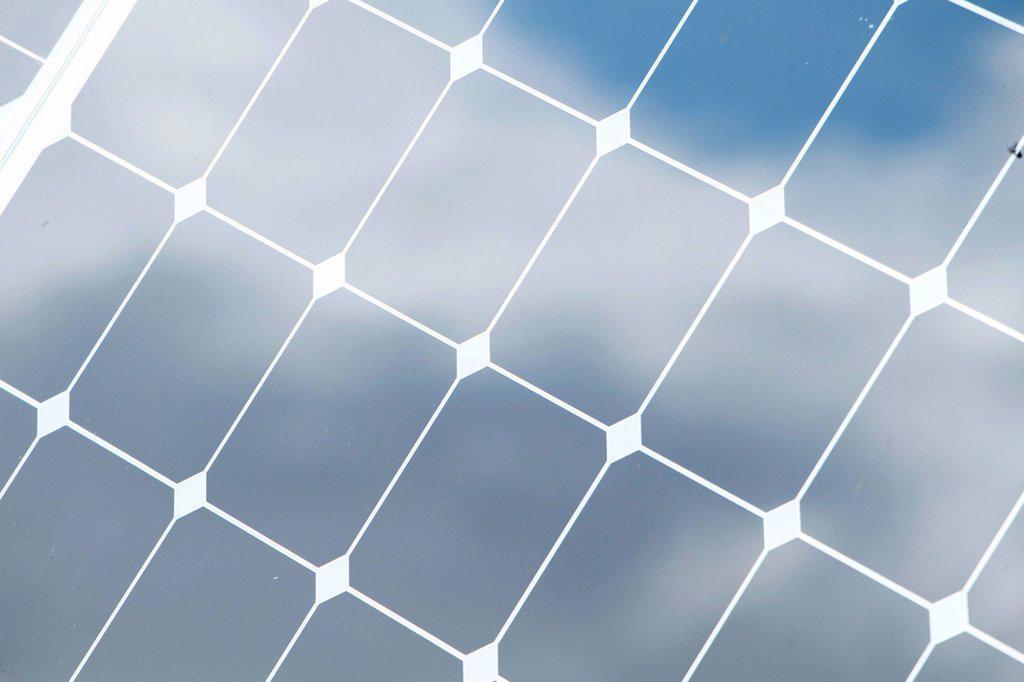 Stock Photo: 1848-590689 Solar panel