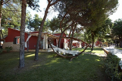 Stock Photo: 1848-59382 Holiday resort in Umag, Istria, Croatia, Europe