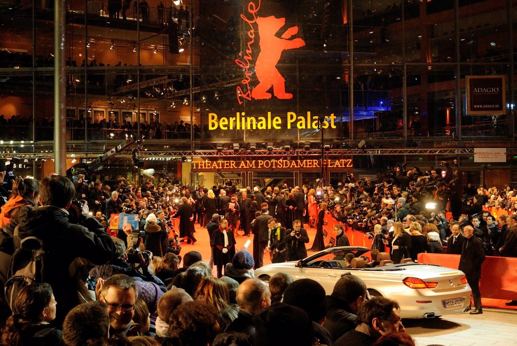 Stock Photo: 1848-594524 Opening of the 61st Berlinale, Berlinale Palast, Theater am Potsdamer Platz, Berlin, Germany, Europe