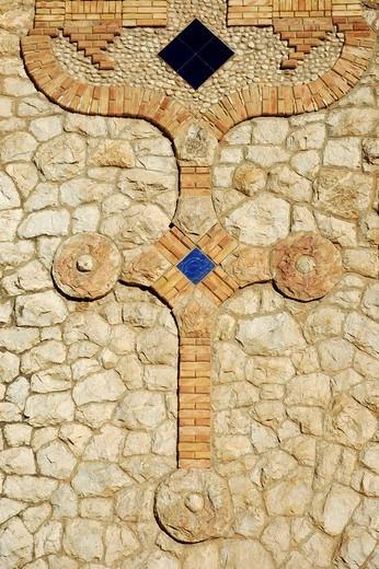 Sanctuary of Mary Magdalene by Jose Sala Sala, Novelda, Alicante, Costa Blanca, Spain : Stock Photo