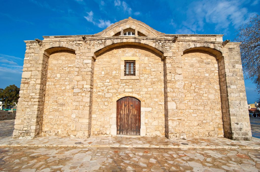 Stock Photo: 1848-597823 Old church of Panagia Angeloktisti, Kiti, Cyprus