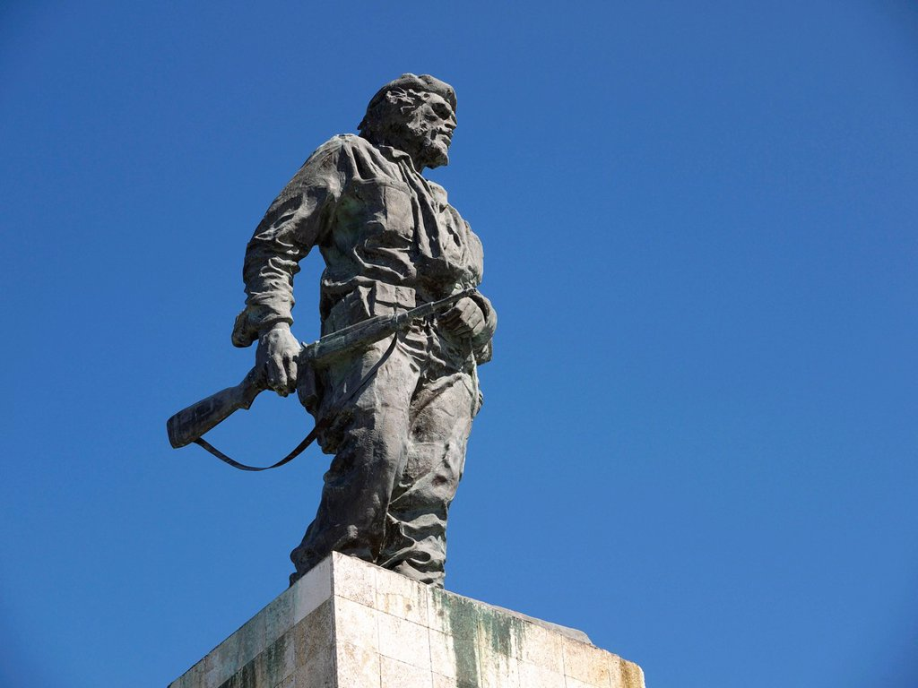 Stock Photo: 1848-597861 Ernesto Che Guevara Memorial, Santa Clara, Cuba, Latin America