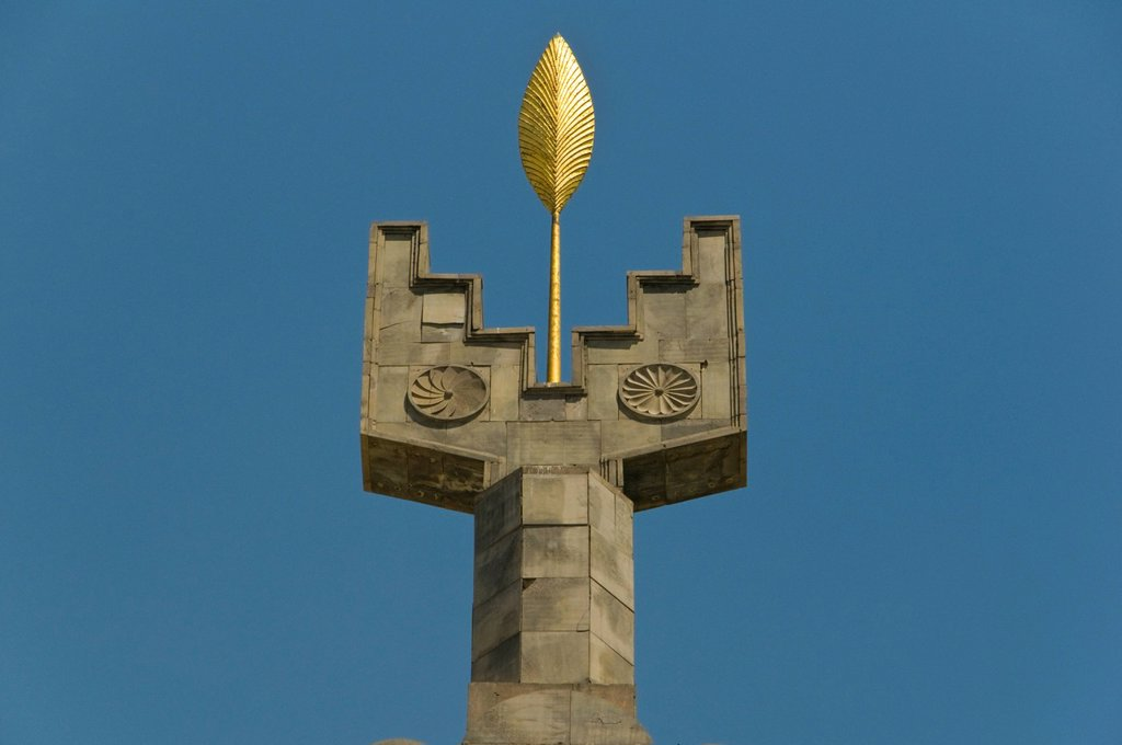 Stock Photo: 1848-598782 Monument to the 50th Anniversary of Soviet Armenia, Yerevan, Armenia, Caucasus Region, Eurasia