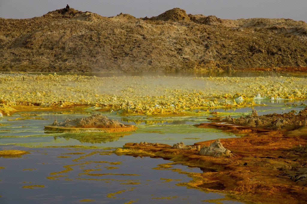 Stock Photo: 1848-600610 Sulphure rock formations, Dallol, Danakil Depression, Ethiopia, Africa